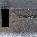 Atari 2600 channel select switch
