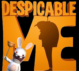Despicable Me minions are Rabbids