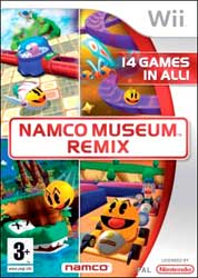 Namco Museum Remix for Wii