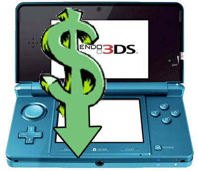 Nintendo 3DS price drop