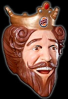 Burger King's creepy King