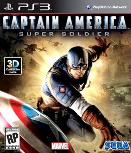 Captain America video game for PS3