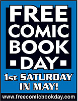 Free Comic Book Day is the 1st Saturday in May