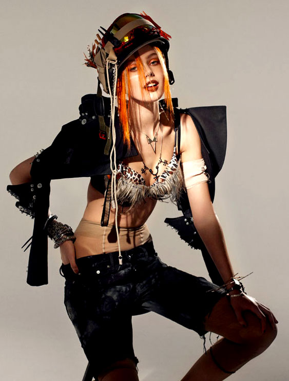 Frida Gustavsson as Tank Girl