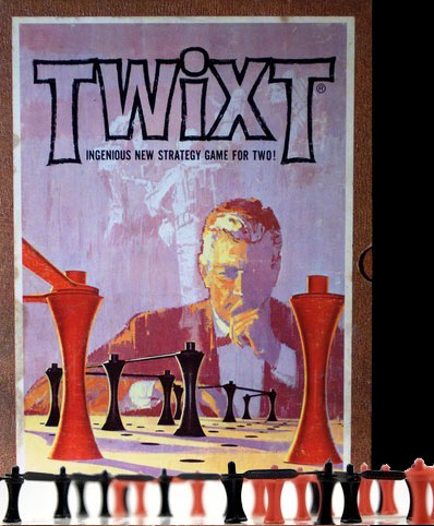 Twixt board game