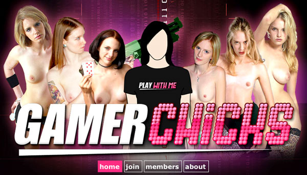 Gamer Chicks porn gaming web site