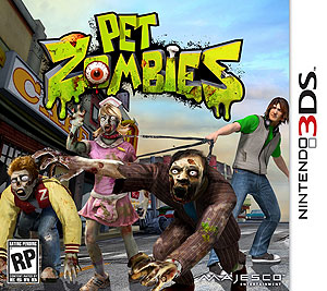 Nintendo 3DS Pet Zombies box cover