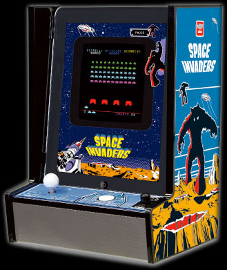 Taito's Space Invaders iCade for iPad