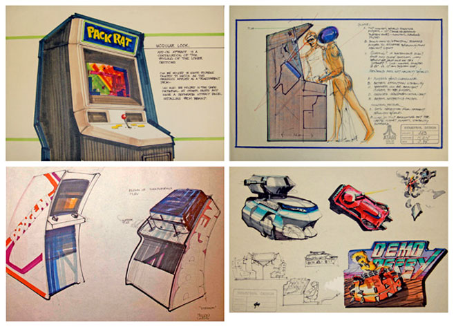 Atari Arcade Design Collection - courtesy of The Strong, Rochester, New York