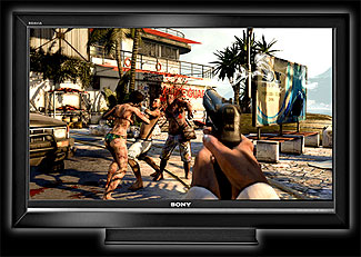 Dead Island on an HD TV