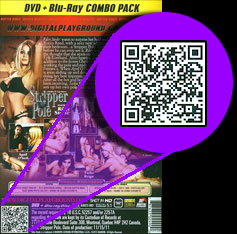 Digital Playground QR codes on product packaging
