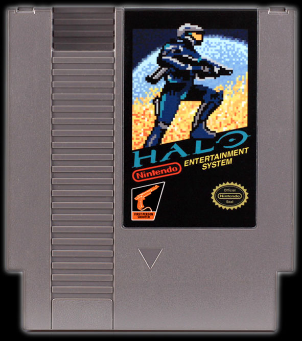Halo for Nintendo NES via 72-Pins