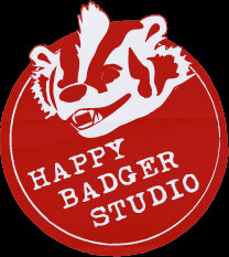 Happy Badger Studio logo