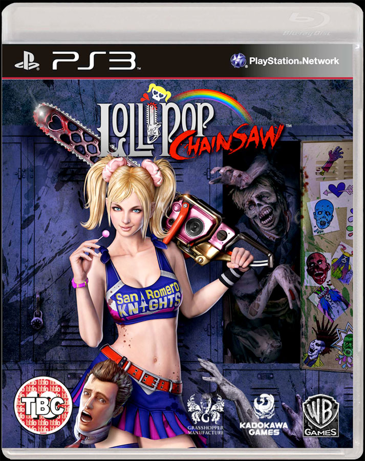 Lollipop Chainsaw on PS3
