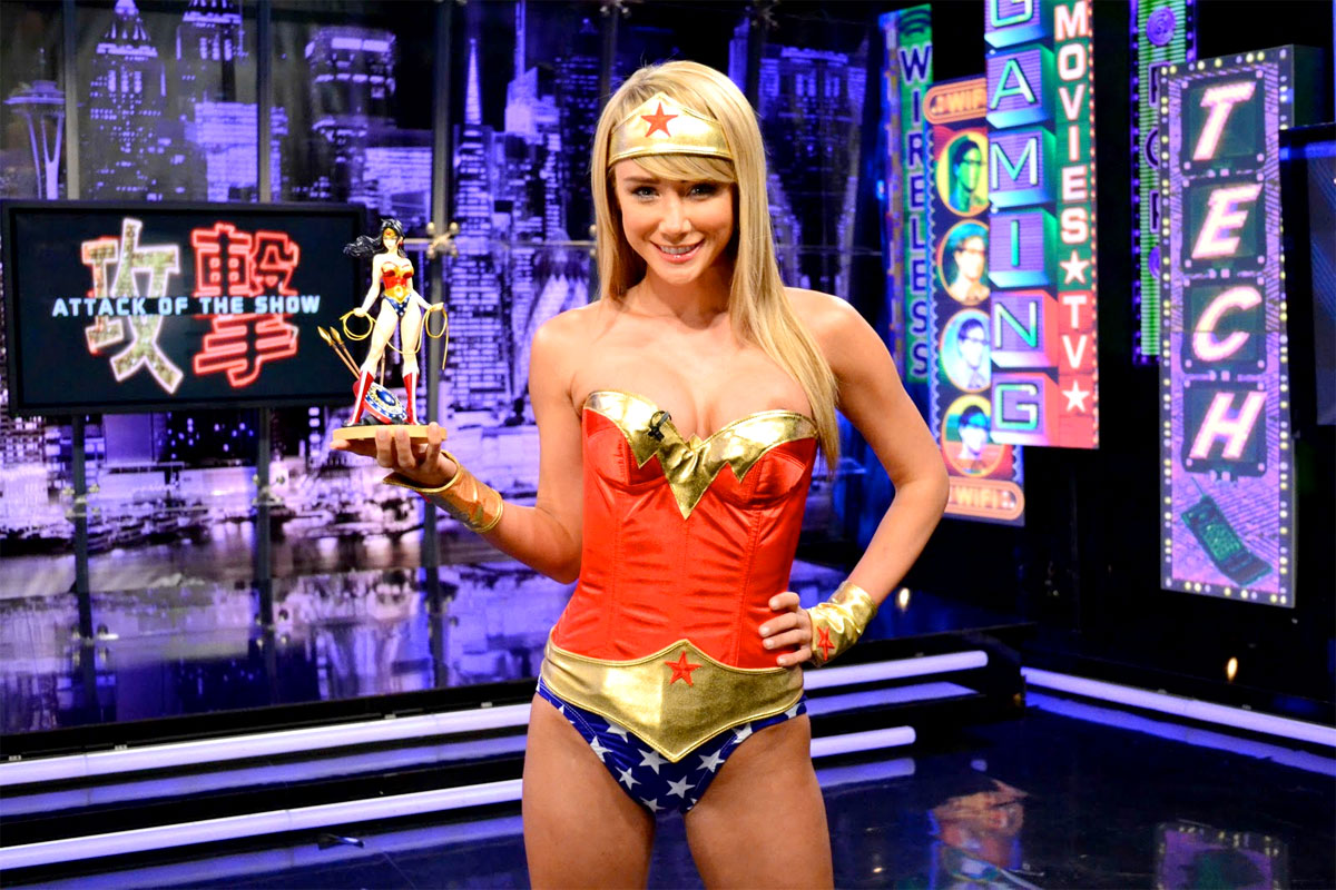 Playmate of the Year & AOTS host Sara Jean Underwood Attack of the Show