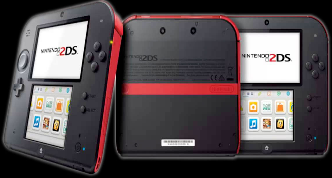 Nintendo's 2DS - multiple views