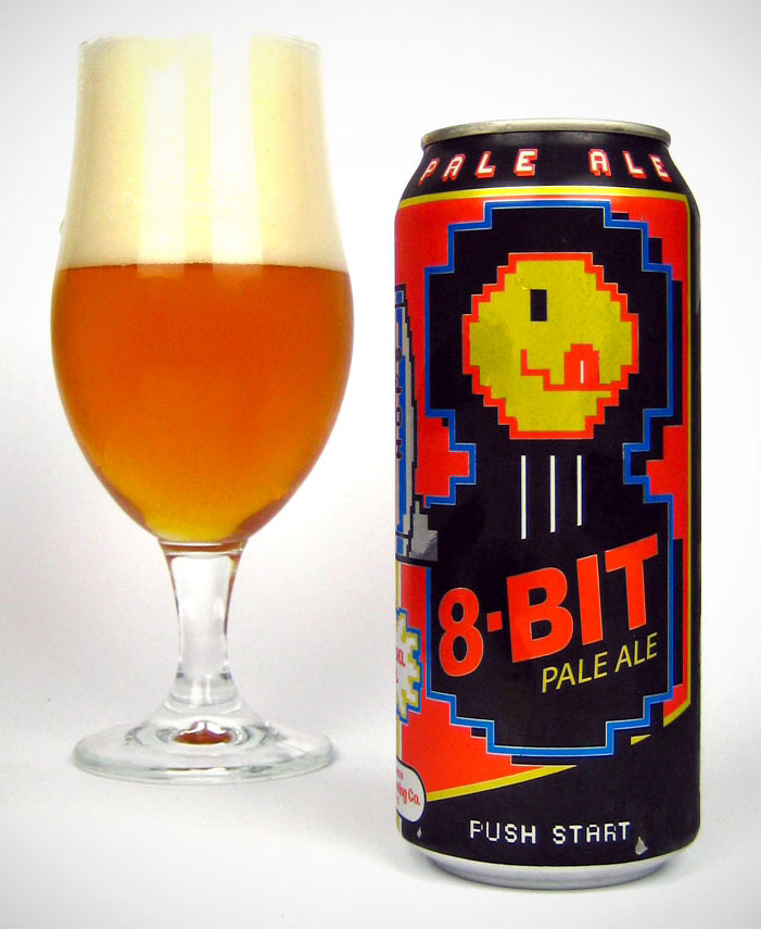 8 bit Ale from the Tallgrass Brewing Company