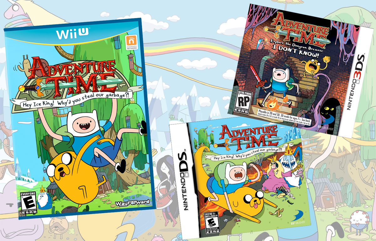 Adventure Time on DS, 3DS and WiiU