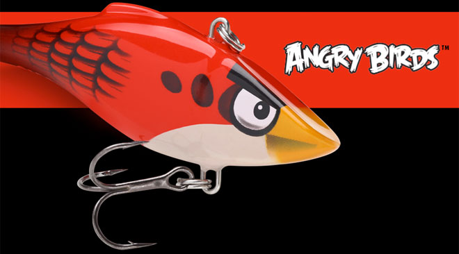 Angry Birds fishing lure