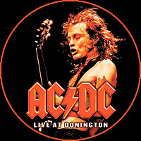 Angus Young from AC/DC Live at Donington album