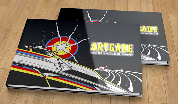 Artcade- The Book Of Classic Arcade Game Art