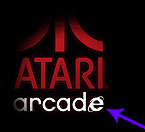 Atari Arcade via MS Internet Explorer