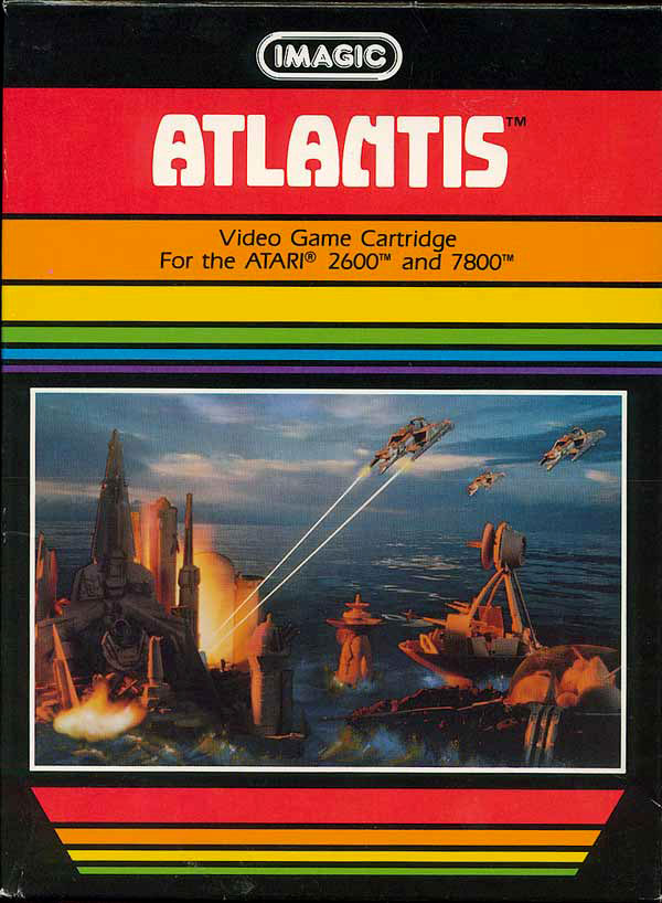 Imagic's Atlantis for Atari 2600 & 7800
