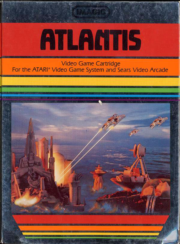 Imagic's Atlantis for Atari 2600 VCS