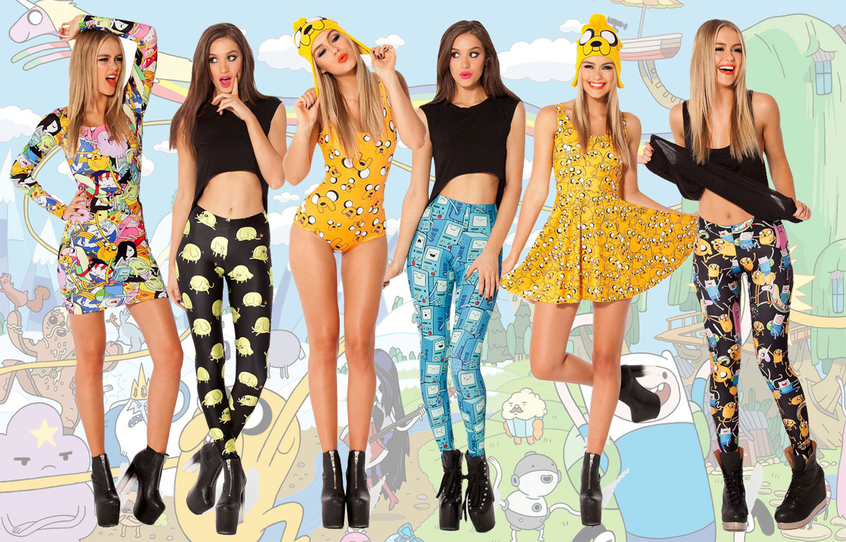 Black Milk Clothing's Adventure Time designs & styles
