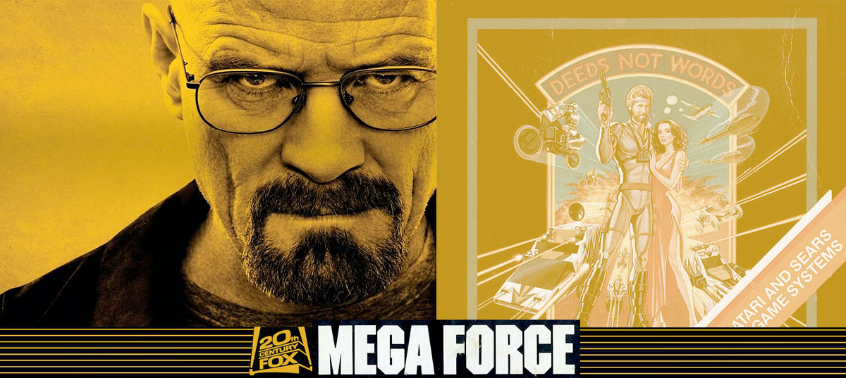 Actor Bryan Cranston had appeared in a commercial for the video game, Mega Force
