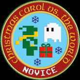 Christmas Carol vs. The Ghost of Christmas Presents badge