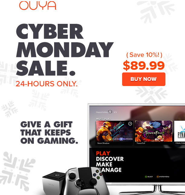 Cyber Monday Ouya deal