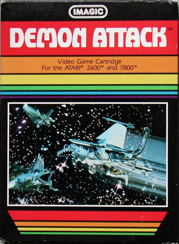 Imagic's Demon Attack for Atari 2600 & 7800
