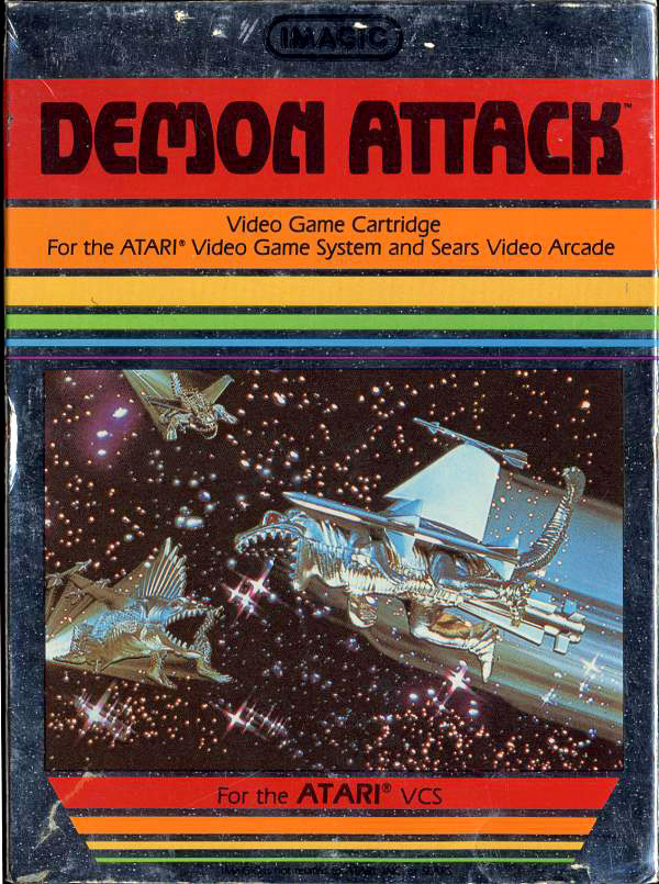 Imagic's Demon Attack for Atari 2600 VCS