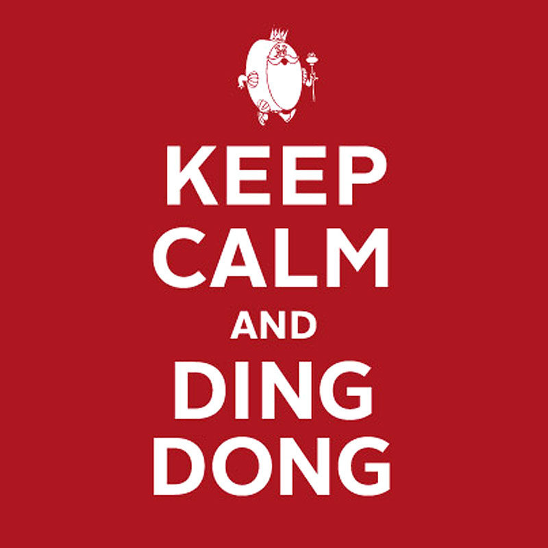 Hostess - Keep Calm and Ding Dong