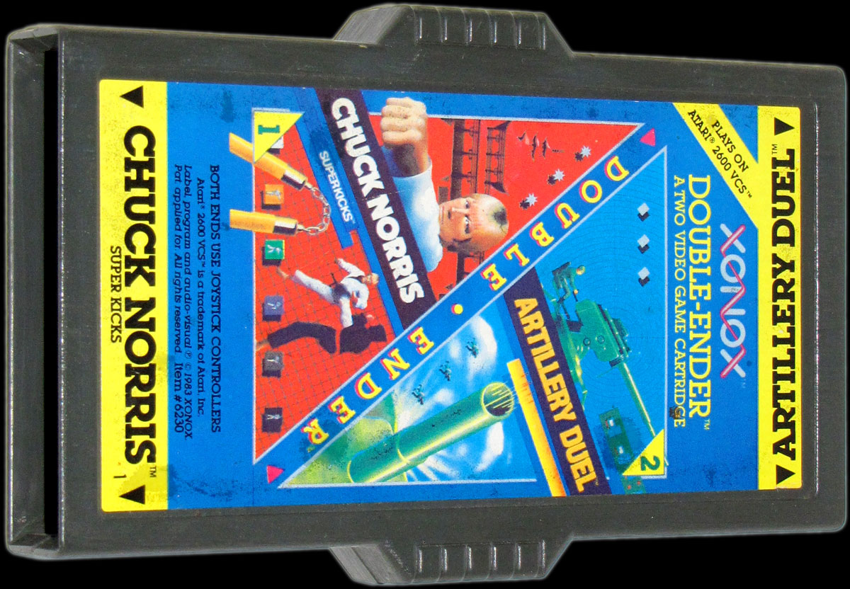 Xonox double ender cartridge for Atari 2600