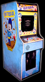 The Fix-It Felix arcade game created for Disney's Wreck It Ralph