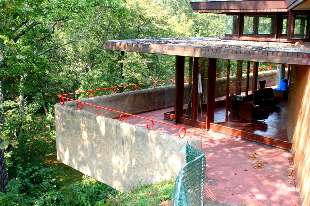 Frank Lloyd Wright designed house