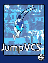 Jump VCS by Repixel8 is a homebrew game for the Atari 2600
