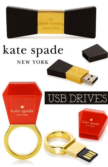 Kate Spade branded USB flash drives