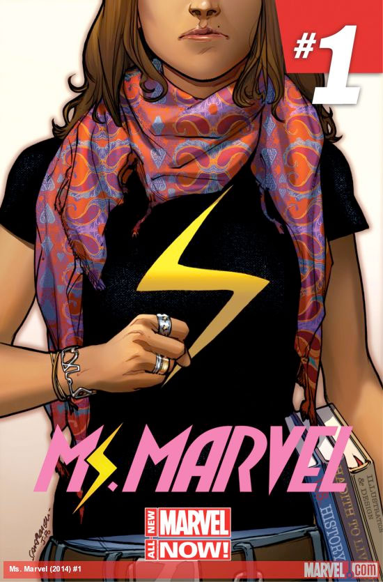 Marvel Comics' new Ms. Marvel, Kamala Khan