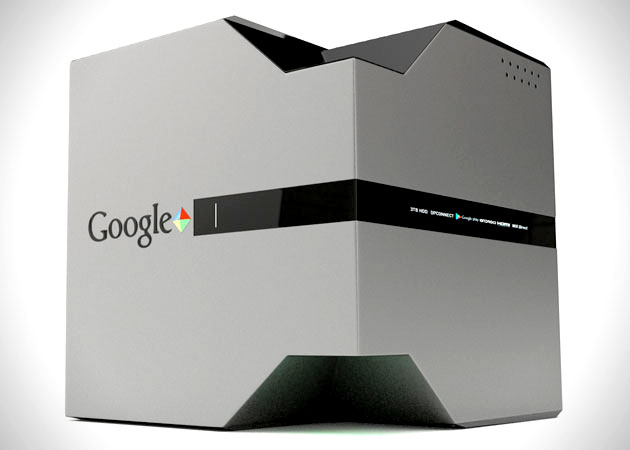 A possible design for a Google game console