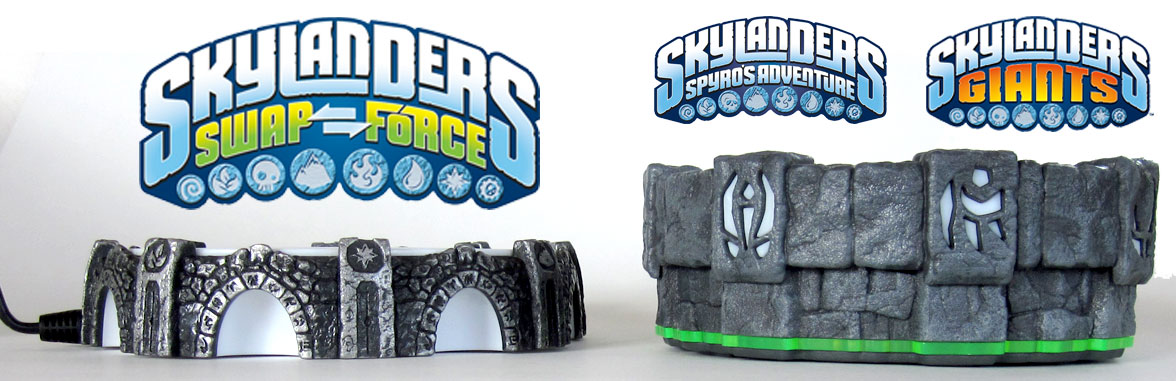 Skylanders portal height comparison