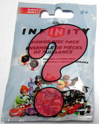 Disney Infinity Power Disc packaging