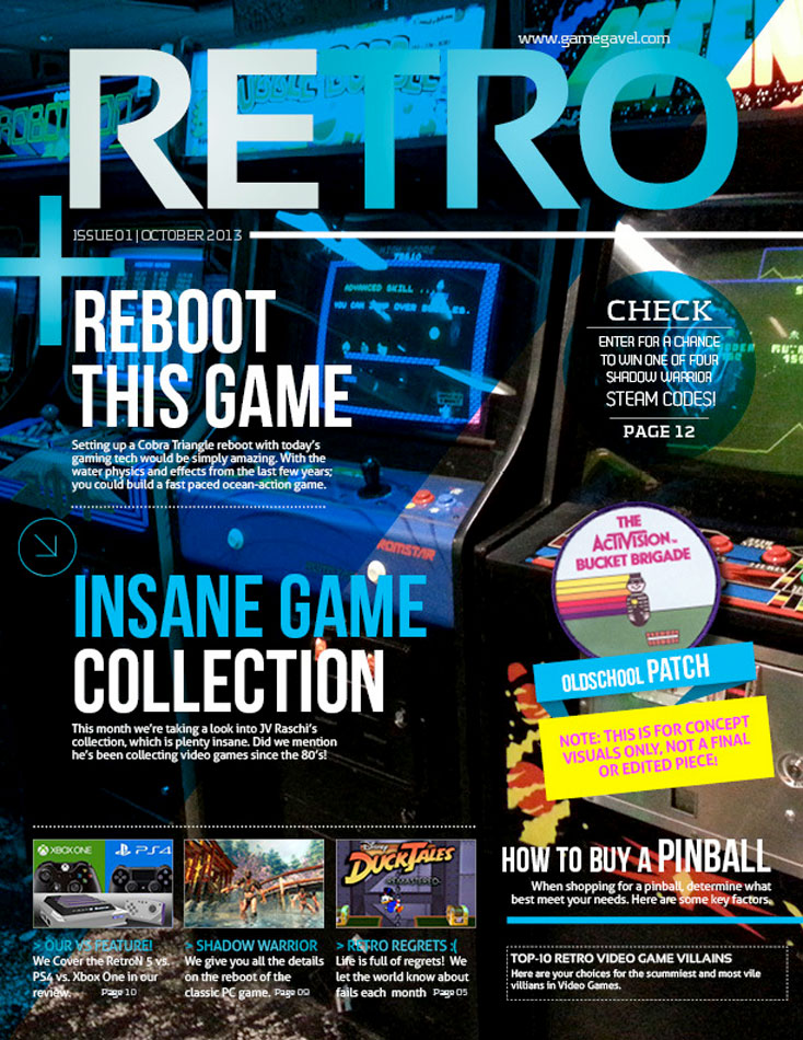 Upcoming retro gaming magazine - Retro