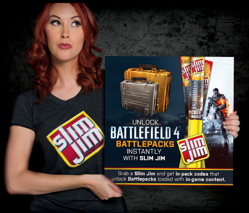 MegaNerd Meg Turney for Slim Jim gamer codes
