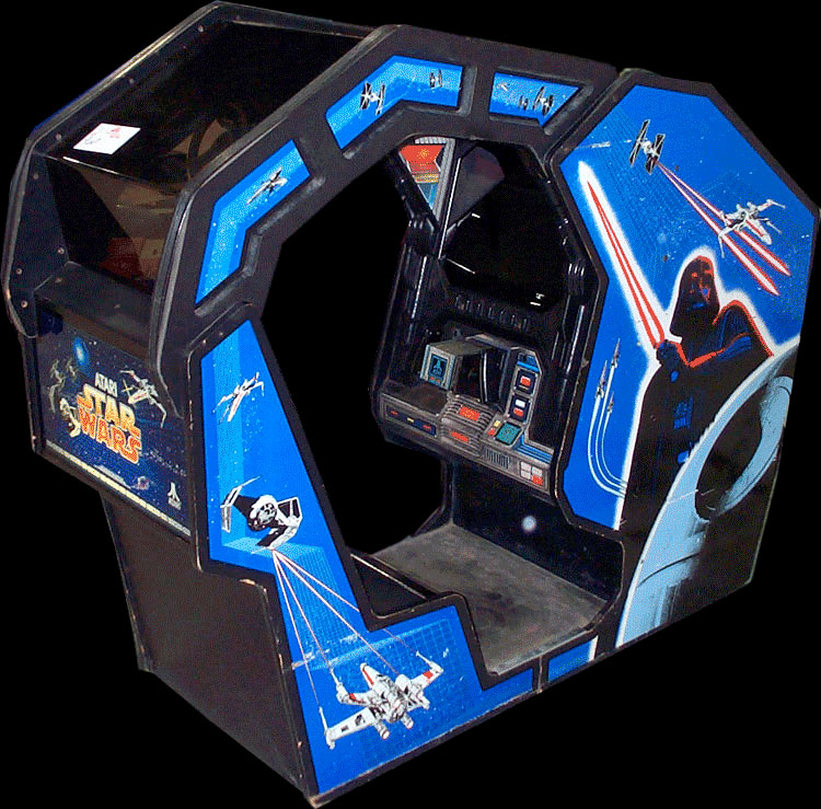 Star Wars sit-in arcade cabinet