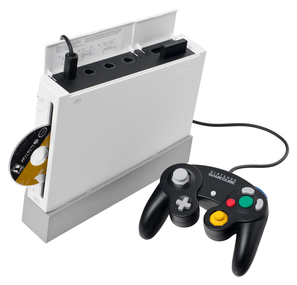Nintendo Wii is backwards compatible with GameCube games, controllers and memory cards