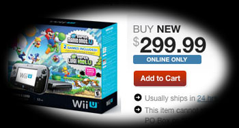 32GB Wii U dropped to the price of the 8GB model - $299