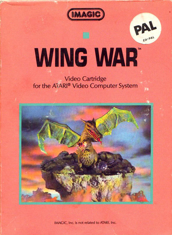 Imagic's Wing War for Atari 2600